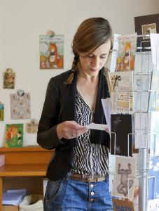 Leonie Verbrugge studio kaarten