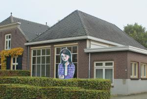 Leonie Verbrugge in Kruisstraat Den Bosch